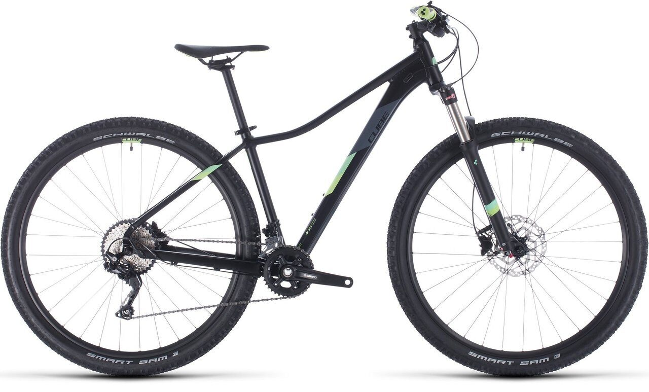 ВЕЛОСИПЕД CUBE ACCESS WS RACE 27.5 / 29 BLACK / GREEN (2020)