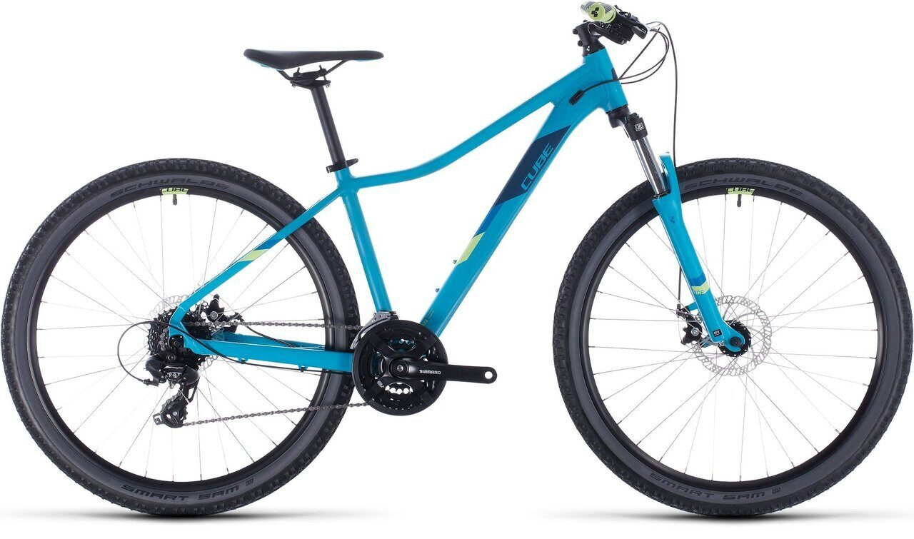 ВЕЛОСИПЕД CUBE ACCESS WS 29 BLUE / GREEN (2020)