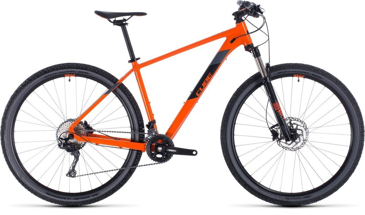 ВЕЛОСИПЕД CUBE ATTENTION SL 27.5 / 29 ORANGE / BLACK (2020)