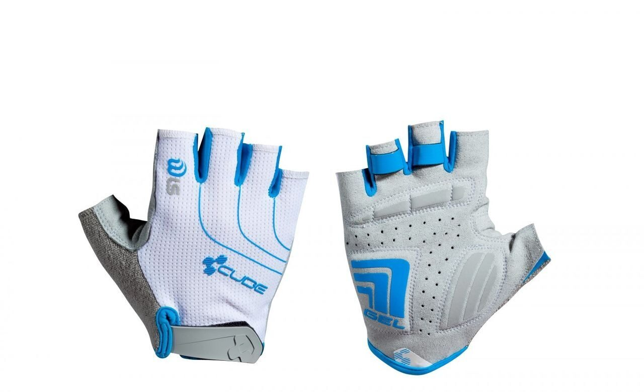 Велоперчатки CUBE WLS Gloves Natural Fit LTD