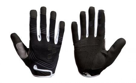 Велоперчатки CUBE Gloves Fritzz Blackline long finger