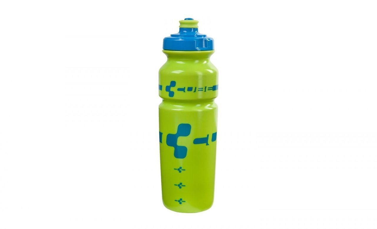Фляга Cube LOGO BOTTLE 0,75L  blue/lime