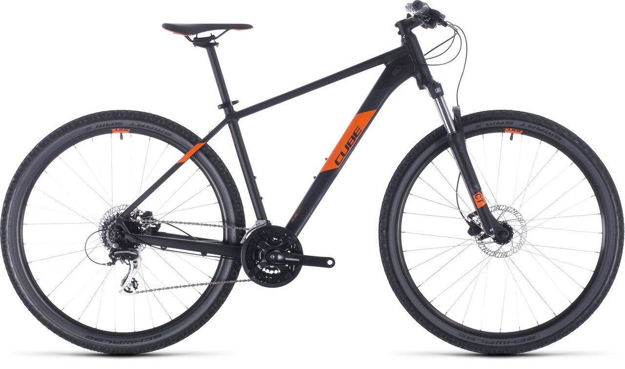 ВЕЛОСИПЕД CUBE AIM PRO 27.5 BLACK / ORANGE (2020)
