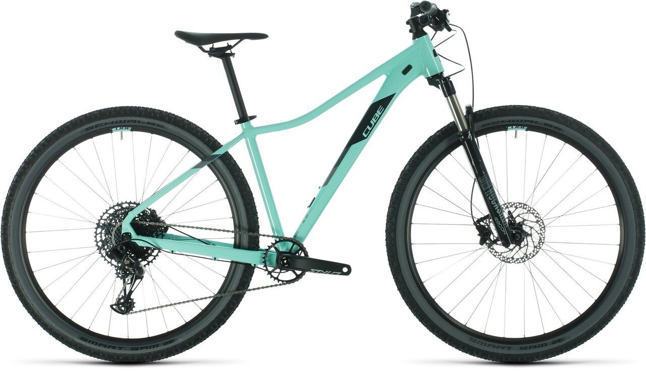 ВЕЛОСИПЕД CUBE ACCESS WS SL 27.5 MINT / GREY (2020)