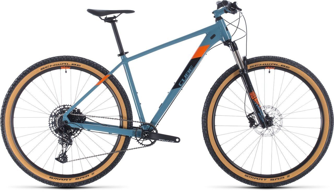 ВЕЛОСИПЕД CUBE ACID 27.5 BLUEGREY / ORANGE (2020)