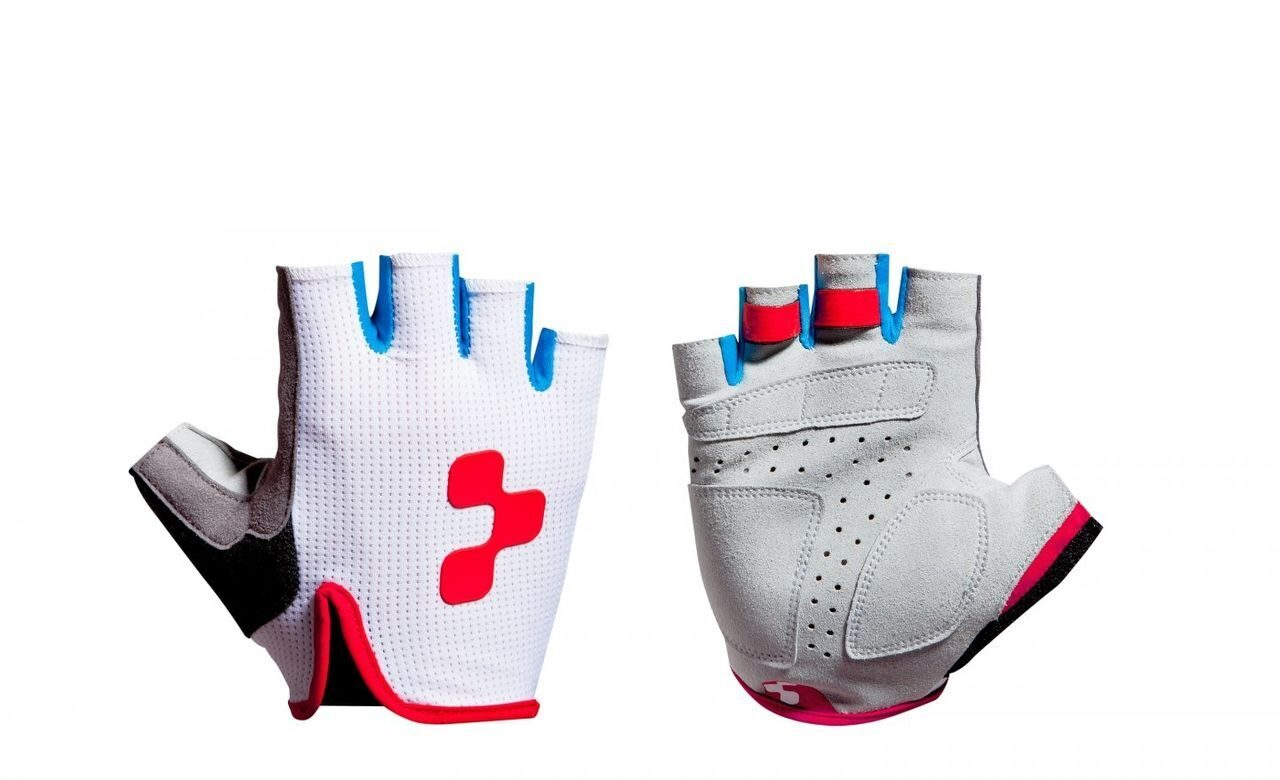 Велоперчатки CUBE Gloves Race Teamline short finger