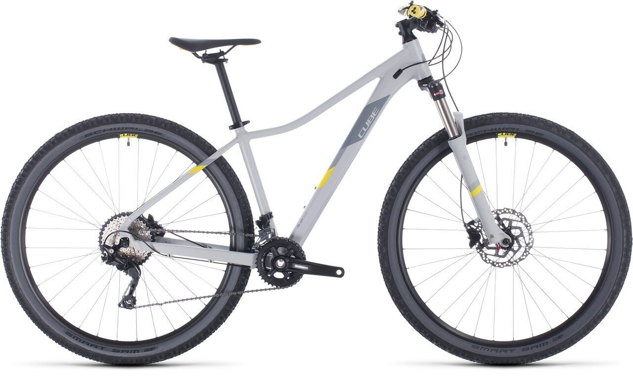 ВЕЛОСИПЕД CUBE ACCESS WS RACE 27.5 / 29 GREY / LIME (2020)