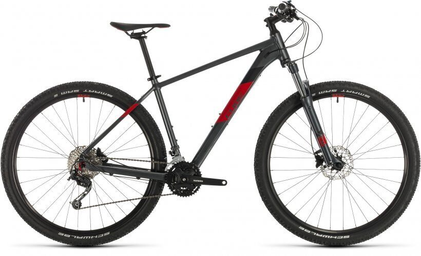 "ВЕЛОСИПЕД CUBE AIM SL 27.5"" / 29"" IRIDIUM / RED (2020)"