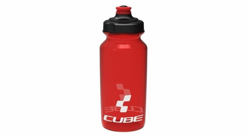 Фляга CUBE BOTTLE 0,5L ICON  red