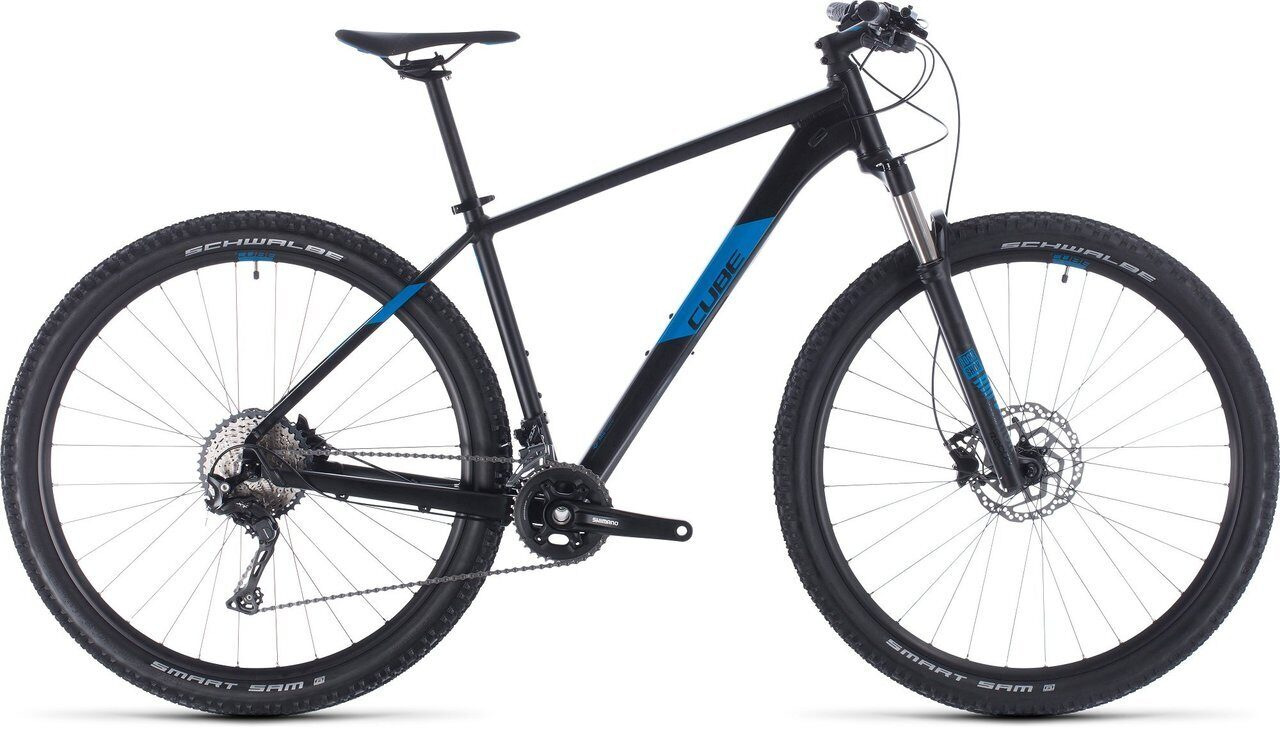 ВЕЛОСИПЕД CUBE ATTENTION SL 27.5 / 29 BLACK / BLUE (2020)