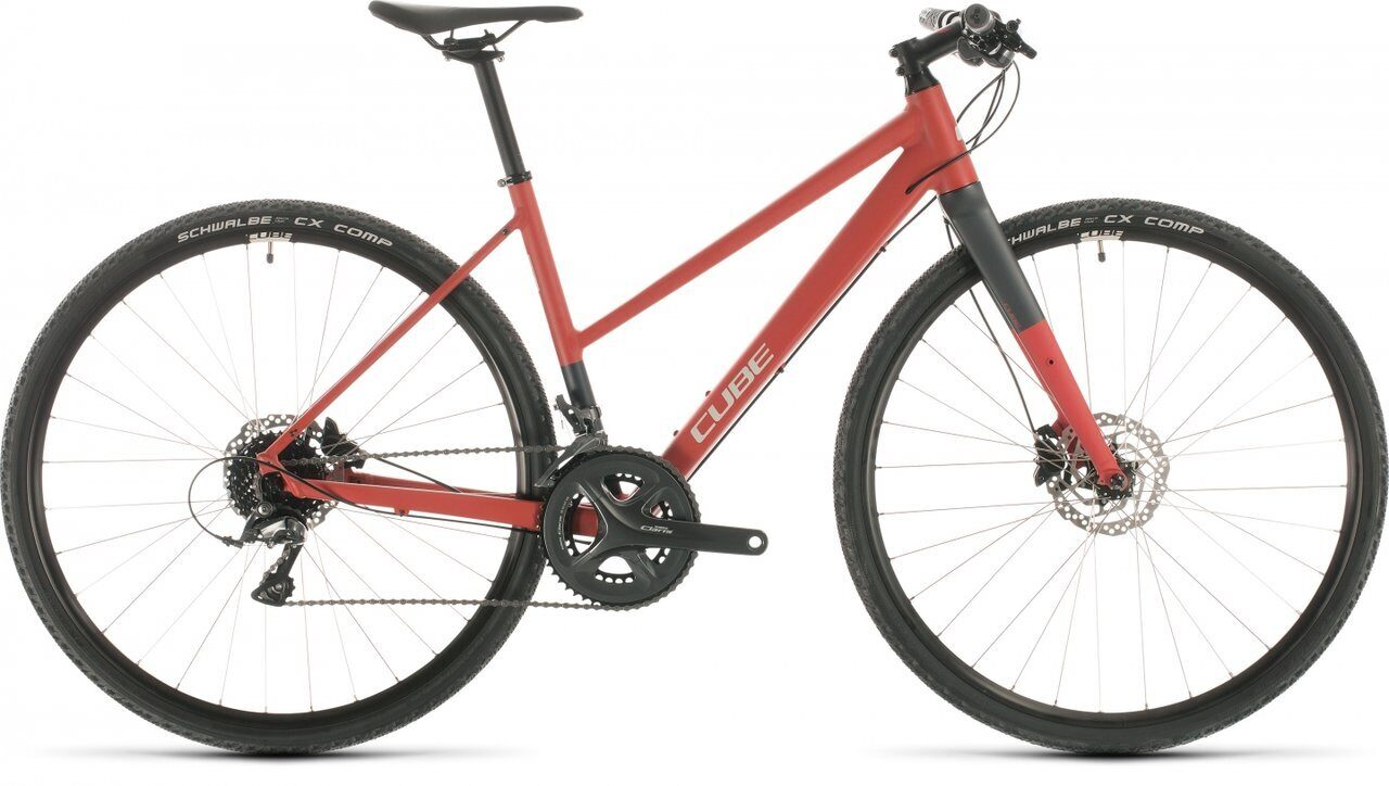 ВЕЛОСИПЕД CUBE SL ROAD RED / GREY (2020) TRAPEZE